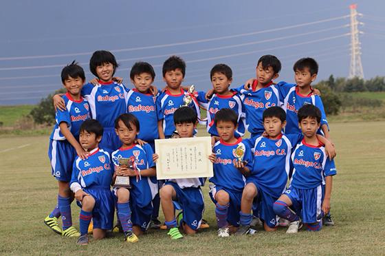 第23回杉山杯争奪少年サッカー大会優勝
