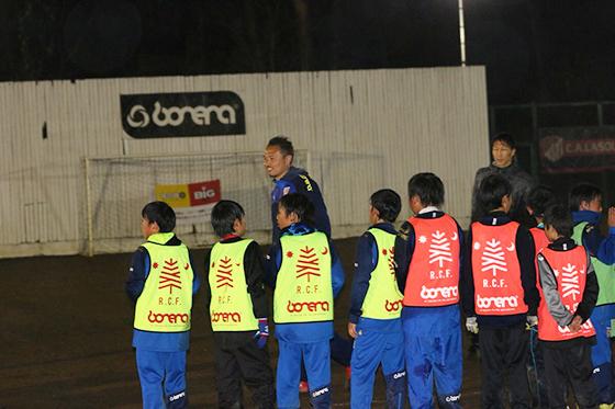 元日本代表サッカー選手・波戸康広スペシャルサッカー教室