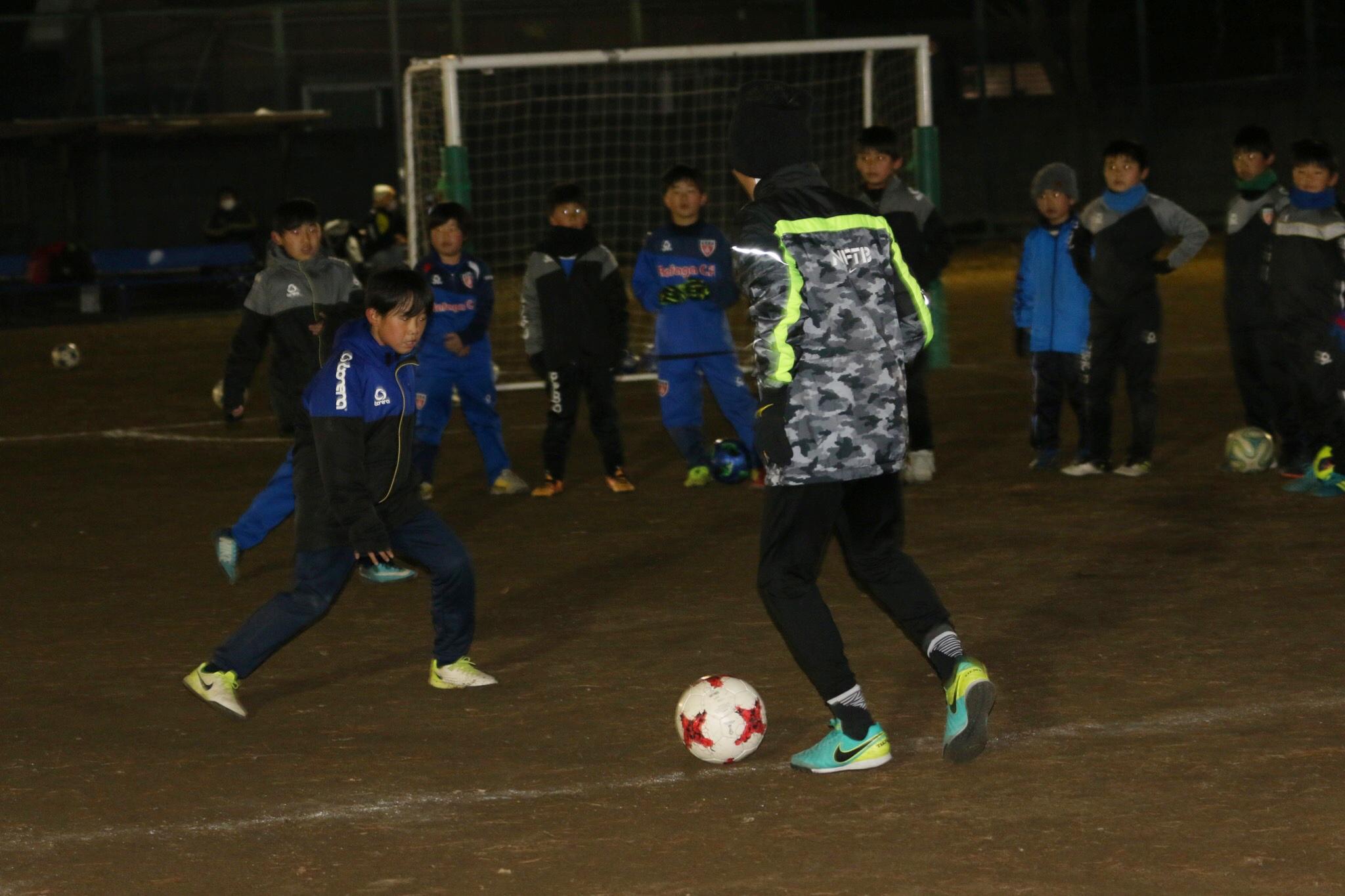 元日本代表サッカー選手・名良橋晃スペシャルサッカー教室